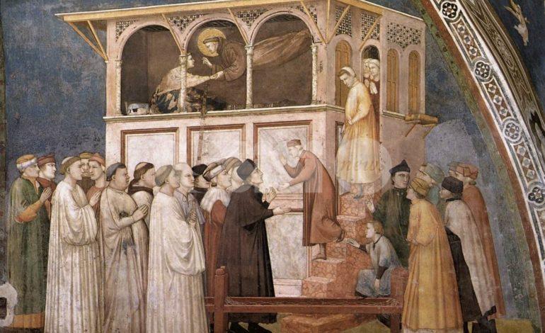 Massimo Iacopi e il miracolo di San Francesco a Sessa Aurunca