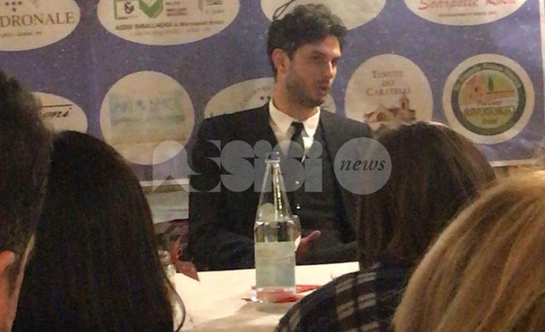 Andrea Ranocchia incontra i giovani di Assisi: si parla di sogni e obiettivi