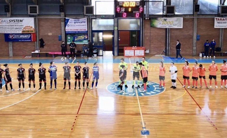 Perugia Futsal femminile, prezioso pari contro il Dorica Torrette