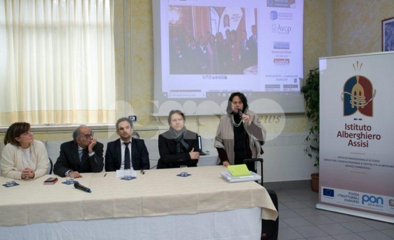 All'Alberghiero di Assisi nuovi laboratori di enogastronomia, ristorante e ricevimento