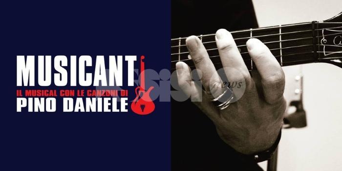 Musicanti, il musical con le canzoni di Pino Daniele rinviato ad aprile