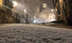 Allerta neve in Umbria, nelle prossime ore fiocchi anche a basse quote