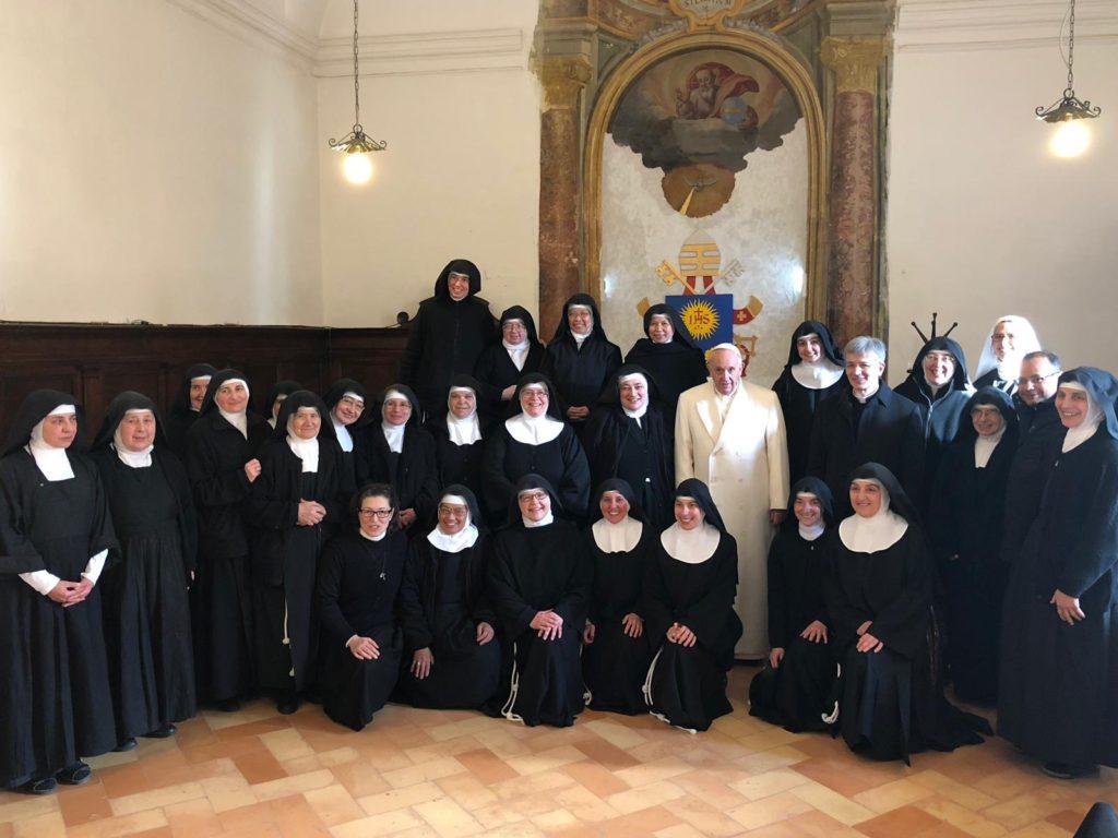 Le suore di Spello a Roma