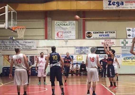 Virtus Assisi sconfitta a Tolentino: finisce 76-66 per i padroni di casa