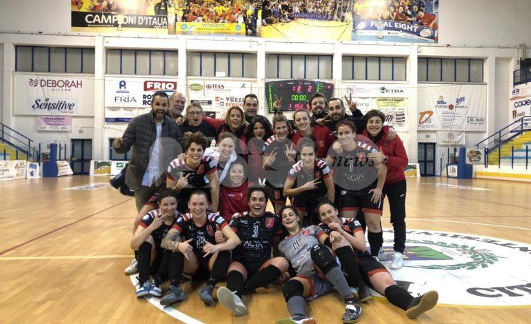 Perugia Futsal femminile, vittoria importantissima a Montesilvano