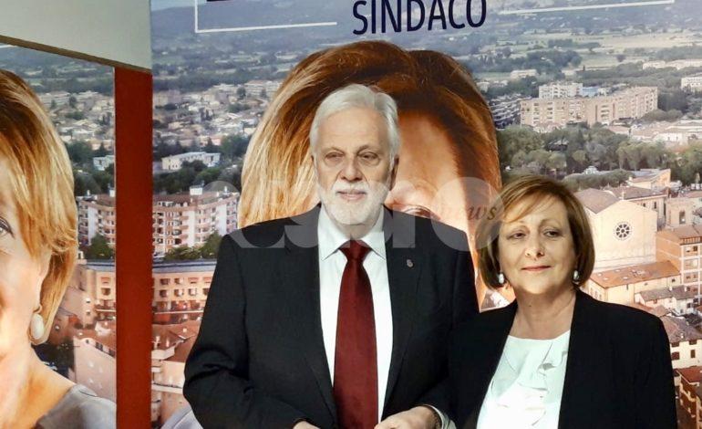 Bastia Umbra, Paola Lungarotti lancia la sua candidatura a sindaco (foto)