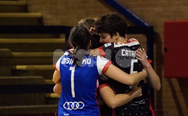 Perugia Futsal femminile sconfitto a Padova 2-1 in una gara avvincente