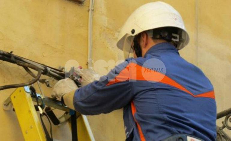 Interruzione energia elettrica a Santa Maria degli Angeli: le aree interessate