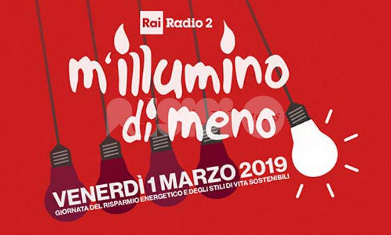 M'illumino di Meno 2019, a Palazzo di Assisi Piedibus speciale l'1 marzo