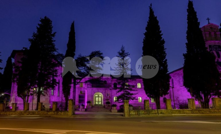 Giornata mondiale dell'epilessia 2019, il Serafico di Assisi si illumina di viola