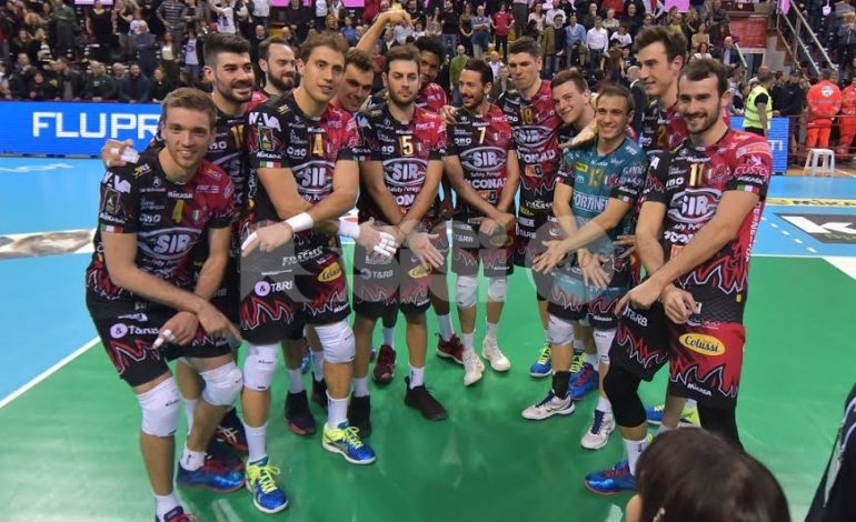 Volley, Sir Safety batte 3-0 Padova al PalaBarton: vittoria e vetta