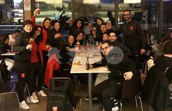 Perugia Futsal femminile in festa: salvezza ipotecata, sarà ancora Serie A2