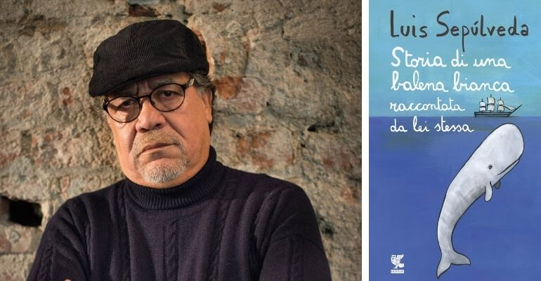 Luis Sepúlveda ad Assisi il 15 maggio 2019 per presentare il suo ultimo libro