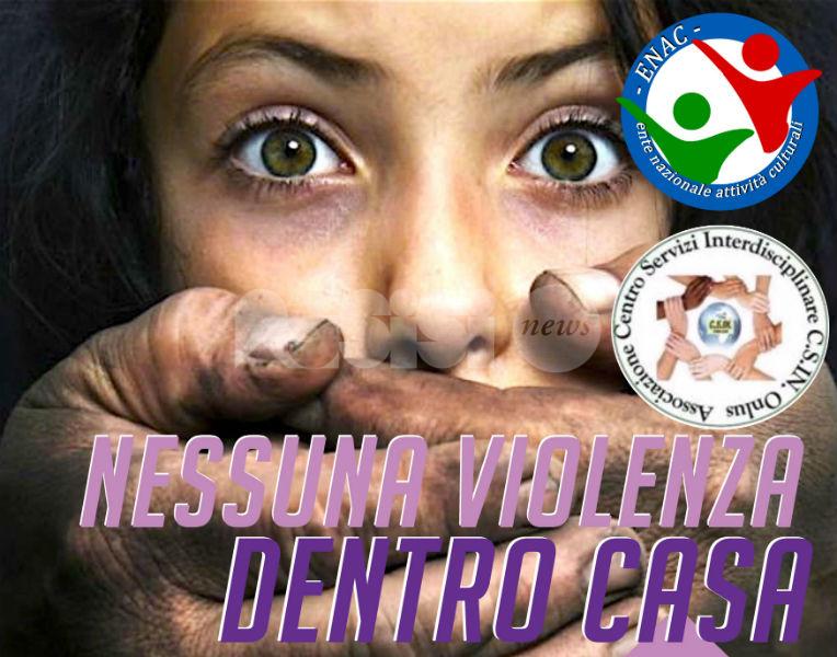 Nessuna violenza dentro casa, l'Enac contro la violenza domestica e di genere