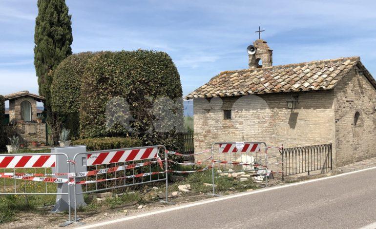 Centralina Enel abbattuta da un'auto, disagi a Santa Maria e Bastia (foto)