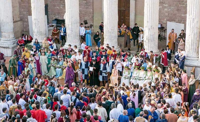 Calendimaggio 2019 di Assisi, gli eventi di fine aprile – inizio maggio