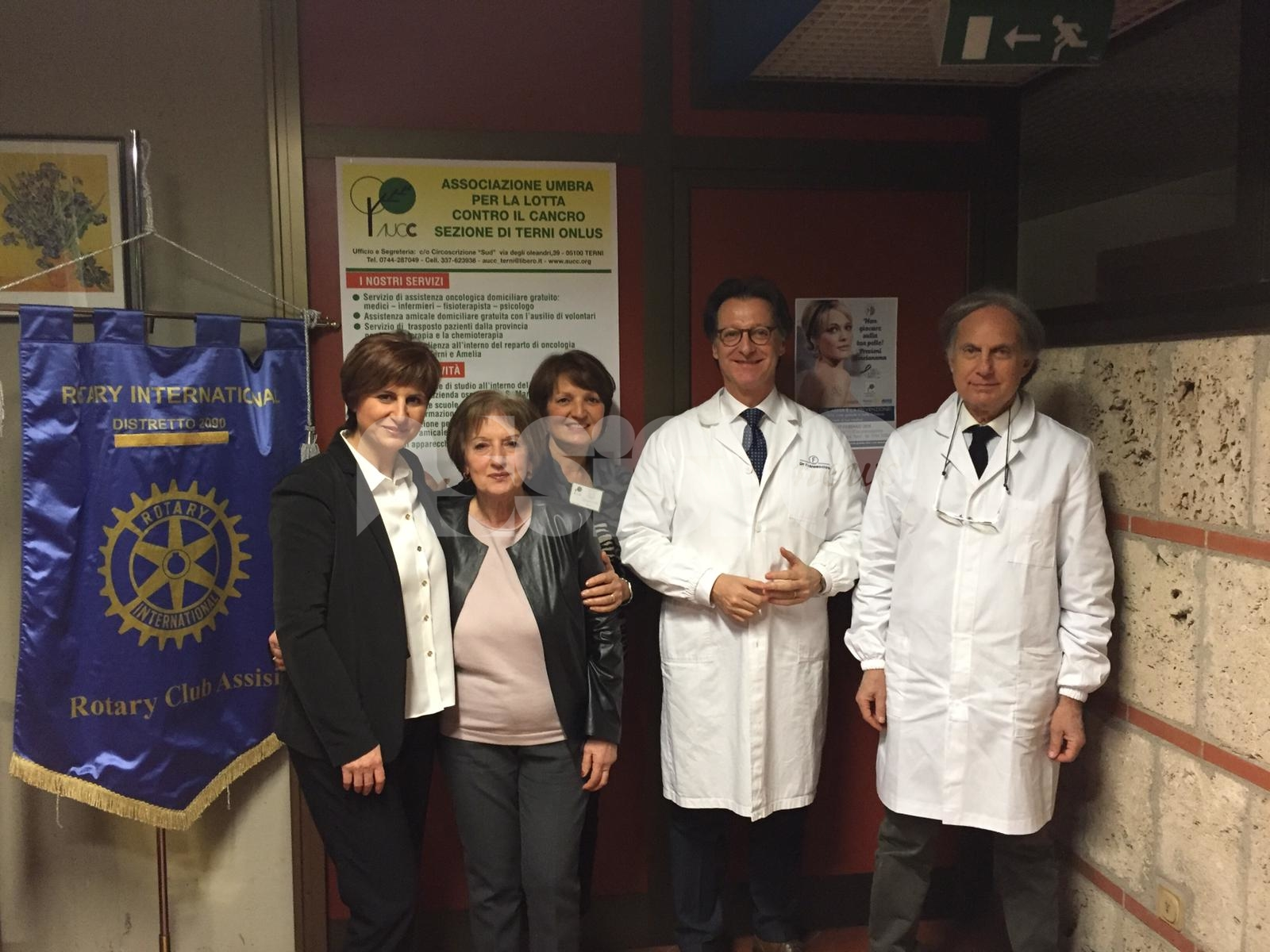 Il Rotary di Assisi piange il dottor Franco Stocchi: il cordoglio del presidente