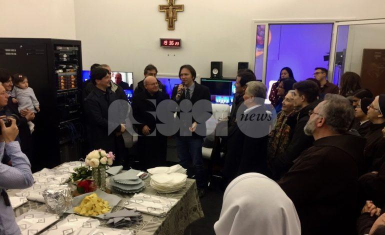 Ad Assisi arriva Maria Visión, la prima tv che trasmette dalla città