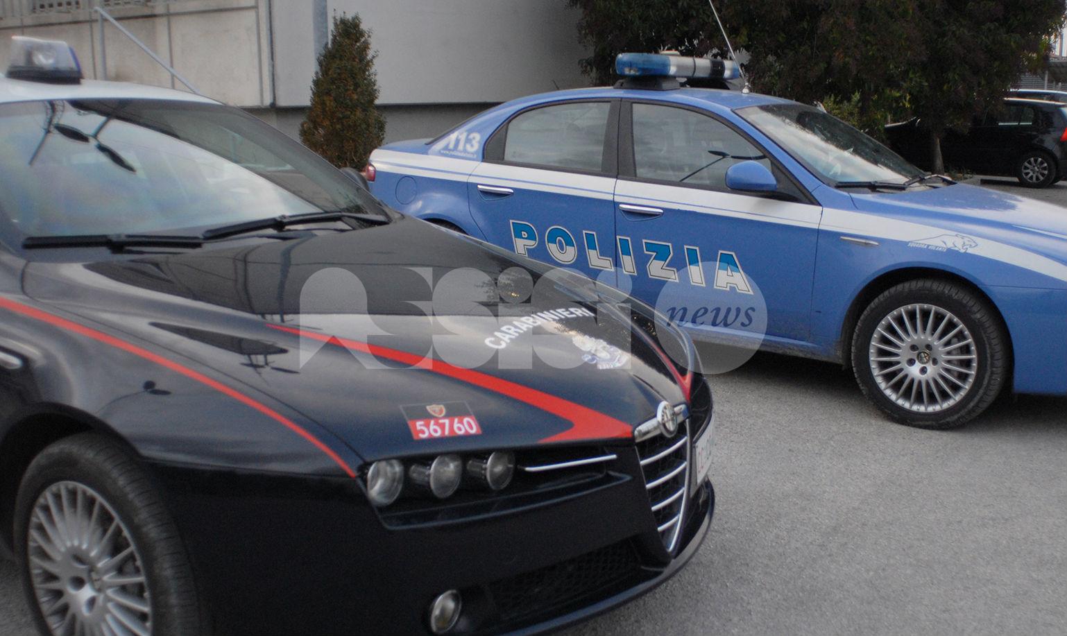 Foligno, polizia e carabinieri (e un cittadino) fermano tre giovani ladri