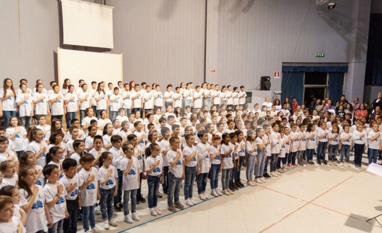 Saggio di canto di fine anno alla scuola Primaria Patrono d'Italia (foto)