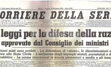 Ad Assisi dal 16 maggio la mostra 1938 - Leggi razziali fasciste