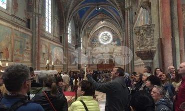 Traduzione come atto politico, i relatori del convegno in visita ad Assisi