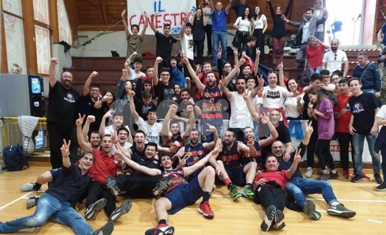 Basket, Virtus Assisi in C Gold: squadra accolta in trionfo al rientro da Teramo