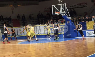 Basket, play-off C Silver: pazzesca Virtus Assisi, ma vince Termoli 100-99