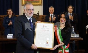 Andrea Riccardi cittadino onorario di Assisi: le foto della cerimonia
