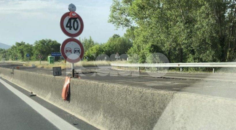 SS75, traffico lento e lavori lunghi: l'appello dei cittadini