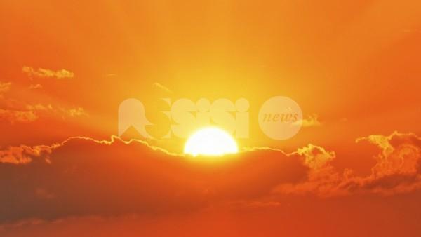 Meteo Assisi weekend 7-9 giugno 2019: sarà caldo africano