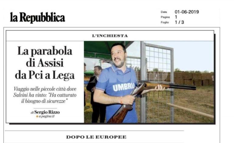 """Salviniland, Repubblica parte da Assisi per il """"viaggio nelle piccole città dove Salvini ha vinto"""""""