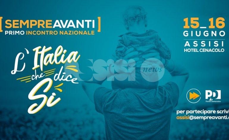 Sempre Avanti, debutta ad Assisi l'associazione ispirata a Matteo Renzi