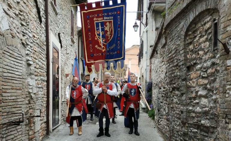 Gruppo storico degli Spadaccini di Assisi, comincia la stagione estiva 2019