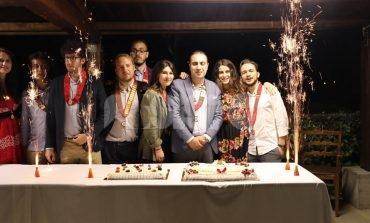 Il Rotaract Club Assisi chiude l'anno con il Brindisi dei Presidenti