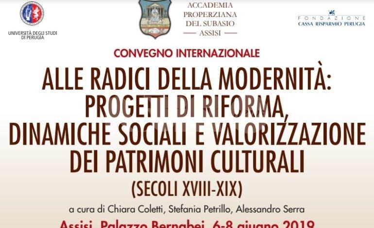 Alle radici della modernità dal 6 all'8 giugno 2019 a Palazzo Bernabei