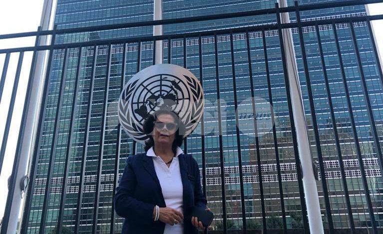 Bianca Maria Tagliaferri all'ONU per sostenere l'istruzione