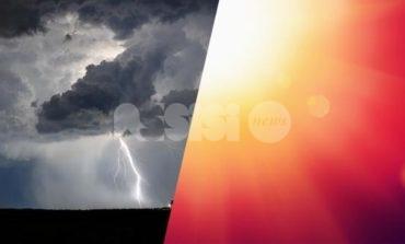 Meteo Assisi 30 agosto-1 settembre 2019: ancora caldo e temporali sparsi
