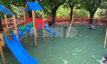 Giochi per bambini nei parchi di Assisi, domani l'inaugurazione