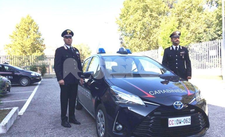 I carabinieri di Assisi diventano 'green': arriva un'auto ibrida