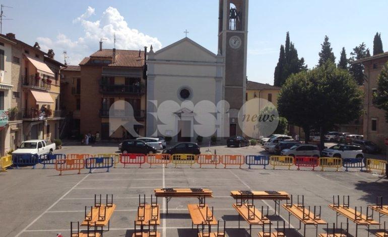 Festa in piazza a Ospedalicchio 2019 per la Madonna della Pietà