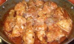 Pollo alla cacciatora umbro, la ricetta: ingredienti e preparazione