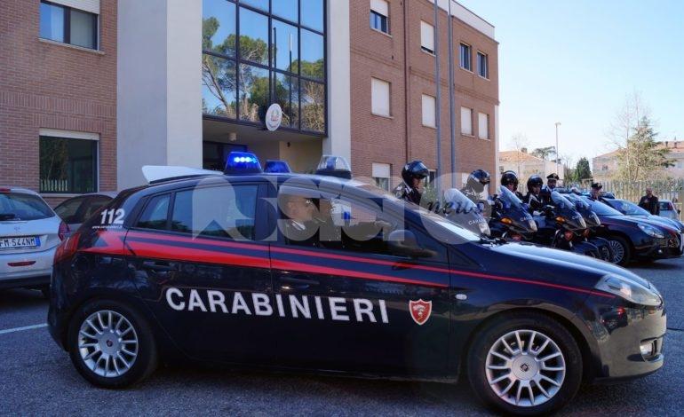 Maxi controllo del territorio, carabinieri in azione anche ad Assisi