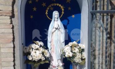 Madonnina di via Ospedale delle Pareti restaurata dopo l'atto vandalico