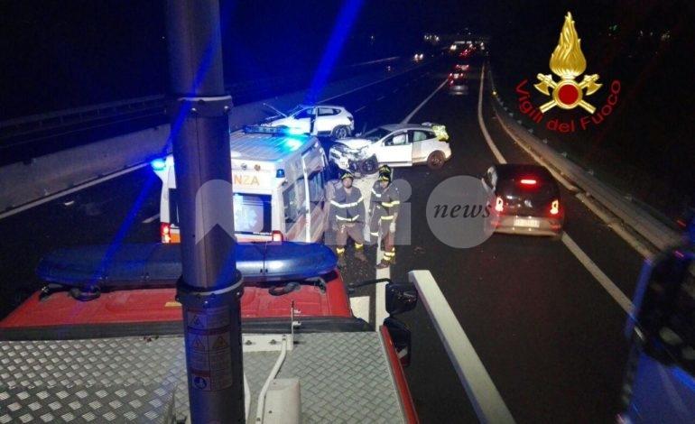 Brutto incidente lungo la SS75 ad Ospedalicchio di Bastia Umbra