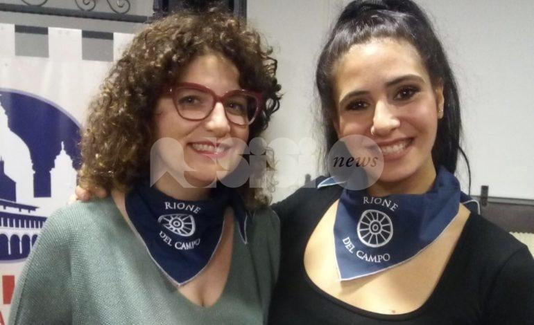 Rione del Campo, Cristina Bastianini capitano e Rachele Bugari vice
