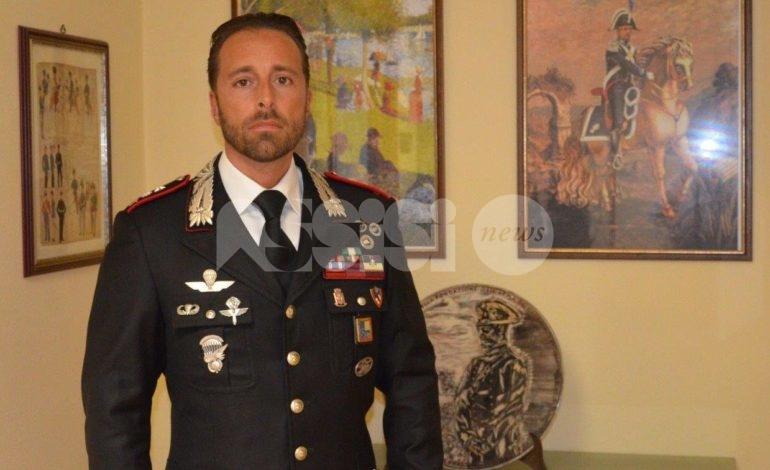 Marco Sivori sarà vice-comandante dei carabinieri del comando provinciale