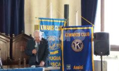 Kiwanis Club di Assisi, Ivano Bocchini è il nuovo presidente