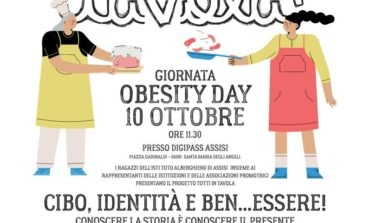 "Obesity Day 2019, all'Alberghiero di Assisi le ""confessioni dietetiche"""