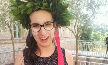 Rita Elena Paccoi, laureata da record ad Assisi: ha appena 22 anni